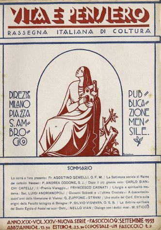 VITA E PENSIERO - 1933 - 9