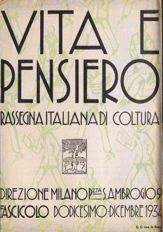 VITA E PENSIERO - 1934 - 12
