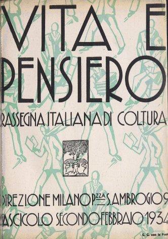 VITA E PENSIERO - 1934 - 2