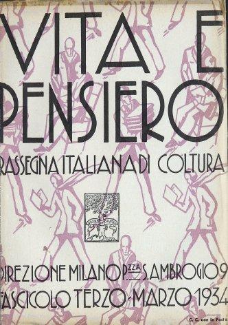 VITA E PENSIERO - 1934 - 3