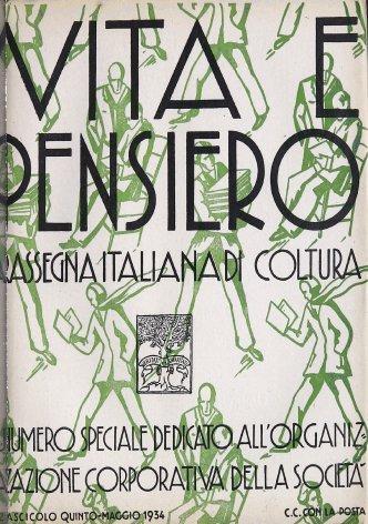VITA E PENSIERO - 1934 - 5