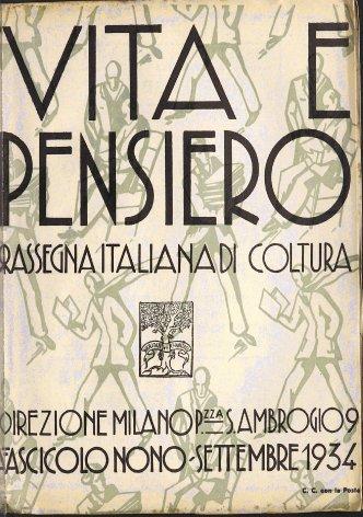 VITA E PENSIERO - 1934 - 9