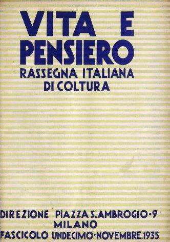 VITA E PENSIERO - 1935 - 11