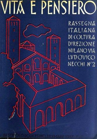 VITA E PENSIERO - 1937 - 12