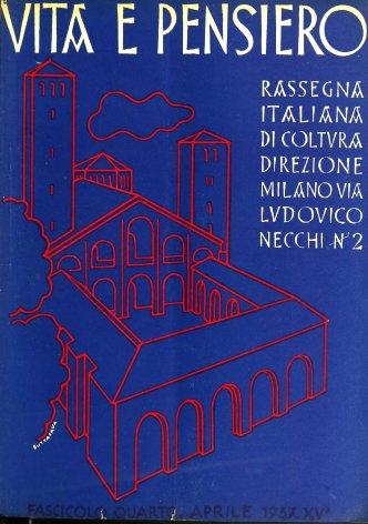VITA E PENSIERO - 1937 - 4