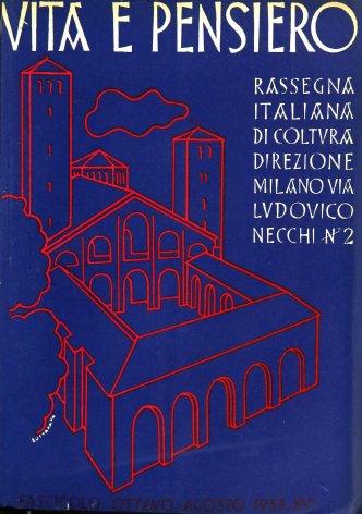 VITA E PENSIERO - 1937 - 8