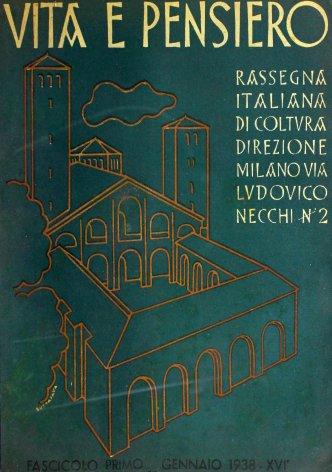 VITA E PENSIERO - 1938 - 1