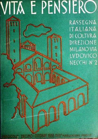 VITA E PENSIERO - 1938 - 10