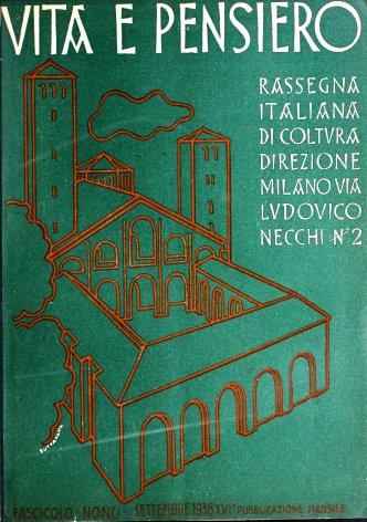 VITA E PENSIERO - 1938 - 9