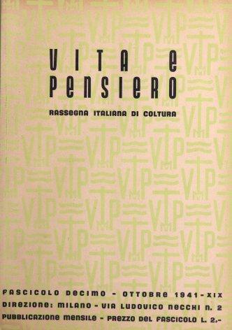 VITA E PENSIERO - 1941 - 10