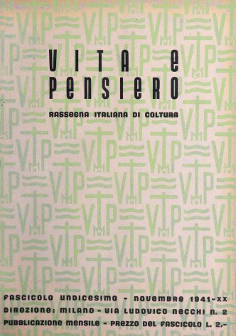 VITA E PENSIERO - 1941 - 11