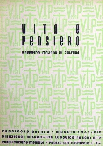 VITA E PENSIERO - 1941 - 5