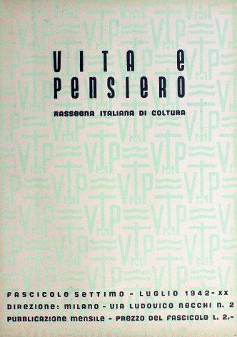 VITA E PENSIERO - 1942 - 7