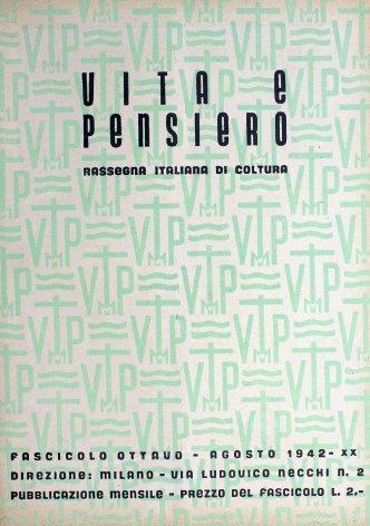 VITA E PENSIERO - 1942 - 8
