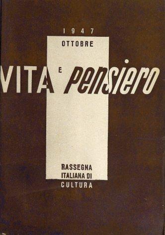 VITA E PENSIERO - 1947 - 5
