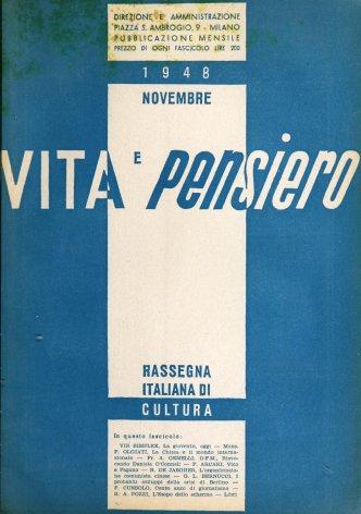 VITA E PENSIERO - 1948 - 11