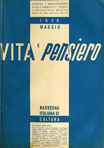 VITA E PENSIERO - 1948 - 5
