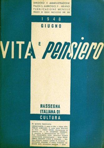 VITA E PENSIERO - 1948 - 6