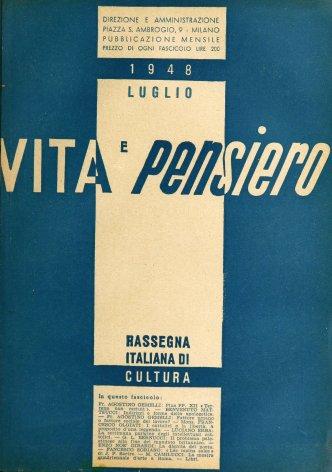 VITA E PENSIERO - 1948 - 7