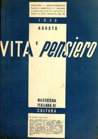 VITA E PENSIERO - 1948 - 8