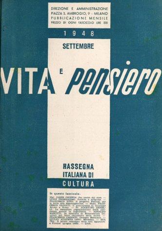 VITA E PENSIERO - 1948 - 9