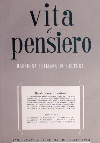 VITA E PENSIERO - 1952 - 7
