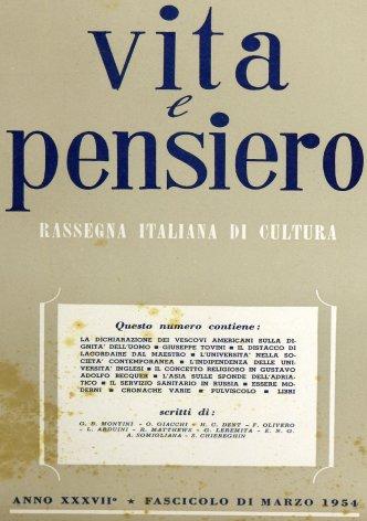 VITA E PENSIERO - 1954 - 3