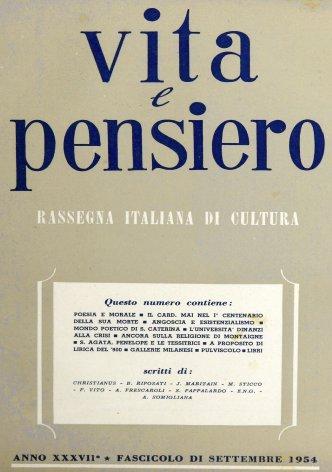 VITA E PENSIERO - 1954 - 9