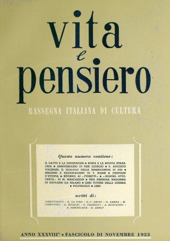 VITA E PENSIERO - 1955 - 11