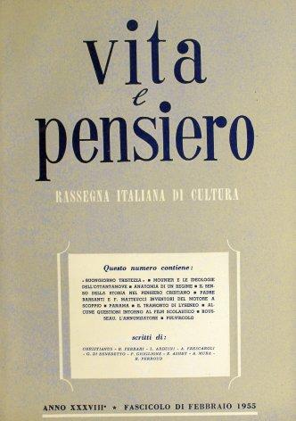 VITA E PENSIERO - 1955 - 2