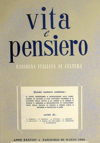 VITA E PENSIERO - 1955 - 3
