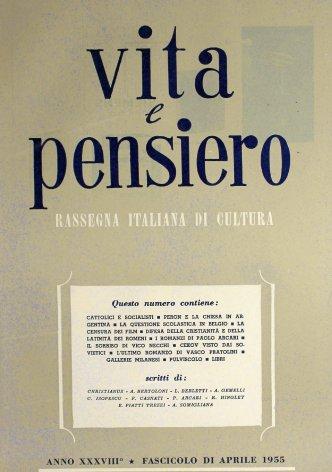 VITA E PENSIERO - 1955 - 4