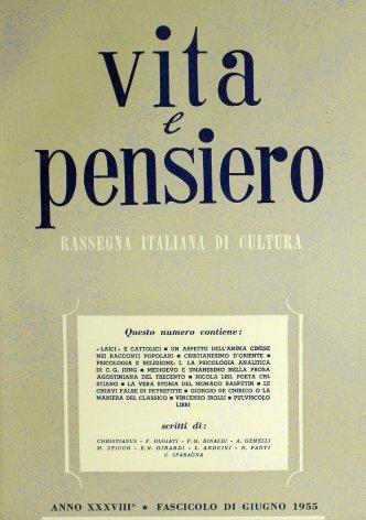 VITA E PENSIERO - 1955 - 6