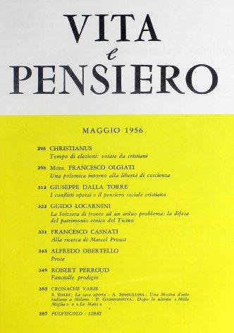 VITA E PENSIERO - 1956 - 5