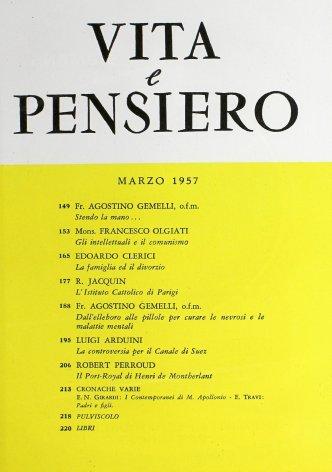 VITA E PENSIERO - 1957 - 3