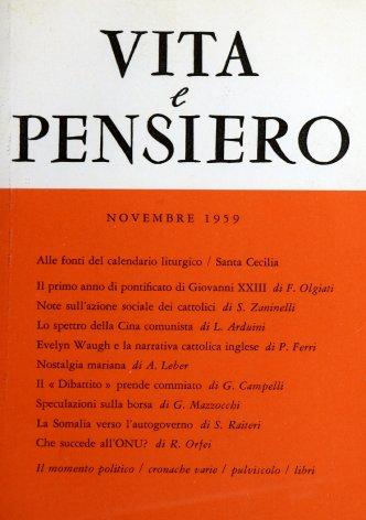 VITA E PENSIERO - 1959 - 11