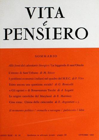 VITA E PENSIERO - 1960 - 10