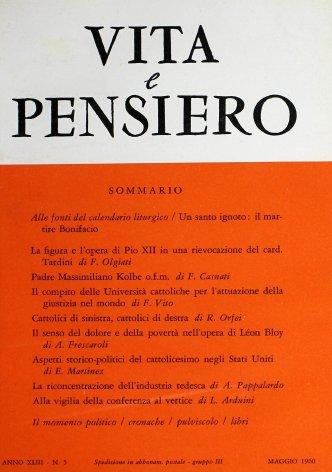 VITA E PENSIERO - 1960 - 5