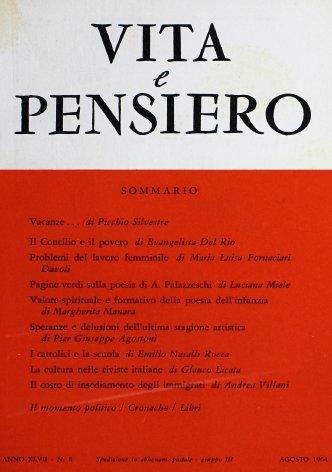 VITA E PENSIERO - 1964 - 8