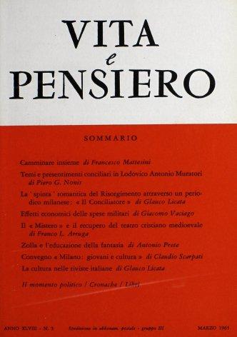 VITA E PENSIERO - 1965 - 3