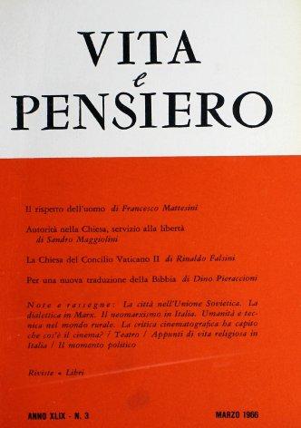 VITA E PENSIERO - 1966 - 3