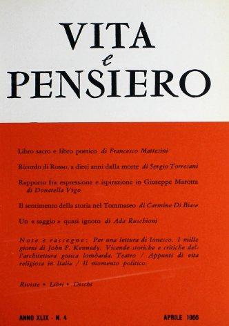 VITA E PENSIERO - 1966 - 4