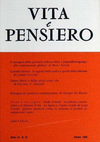 VITA E PENSIERO - 1969 - 10