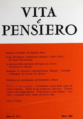 VITA E PENSIERO - 1969 - 3