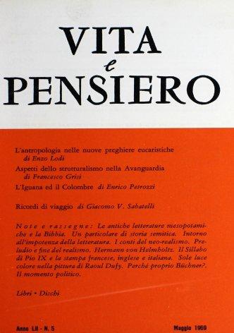 VITA E PENSIERO - 1969 - 5