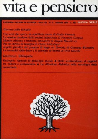 VITA E PENSIERO - 1970 - 2