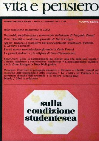 VITA E PENSIERO - 1972 - 2