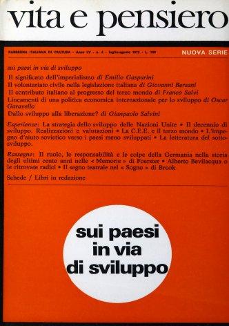 VITA E PENSIERO - 1972 - 4