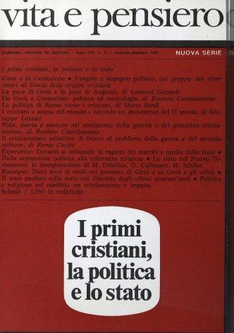 VITA E PENSIERO - 1972 - 6