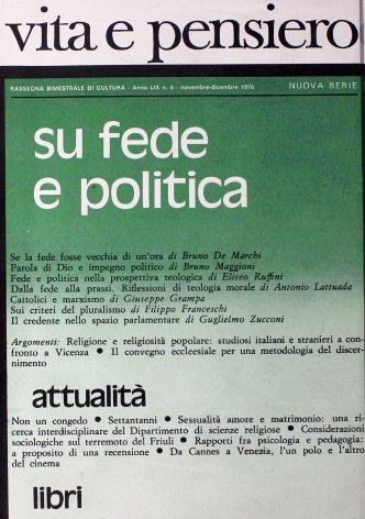 VITA E PENSIERO - 1976 - 6